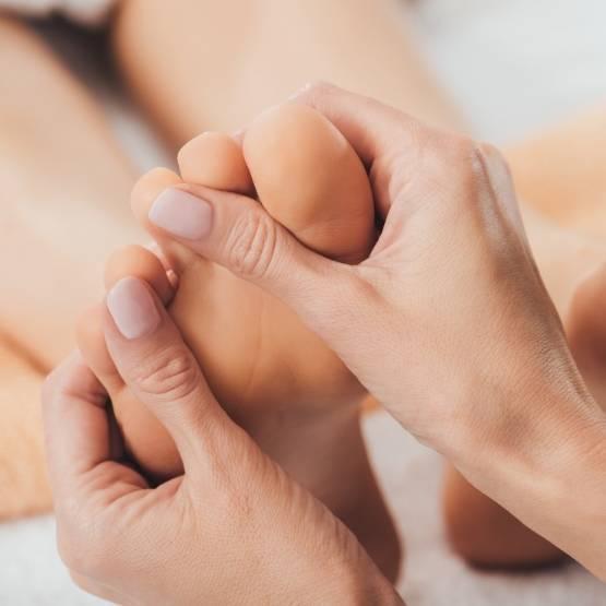 masaż stop