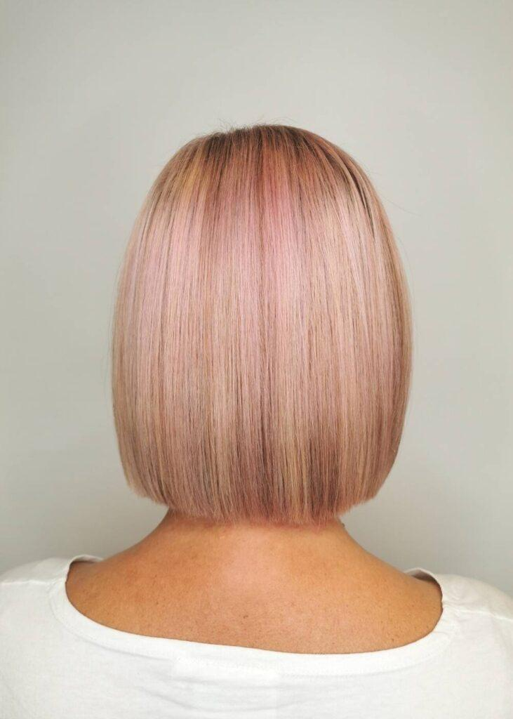 realizacja blond różowy cover