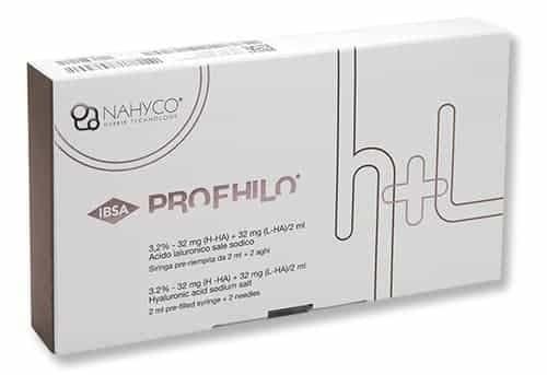 Stymulatory tkankowe PROFHILO 2ml hybrydowa molekuła młodości